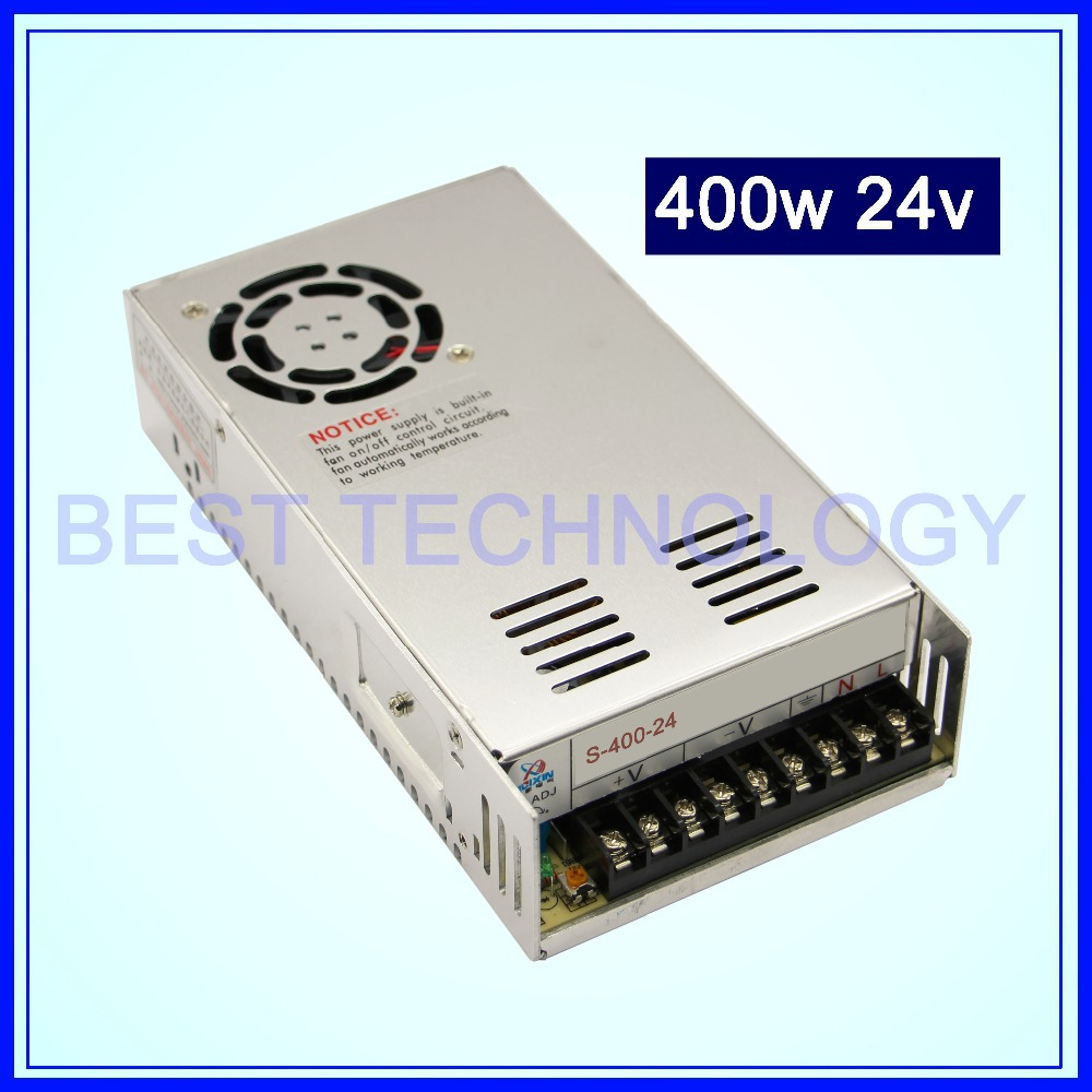switching power supply 400W 24V DC Switch Power Supply Single Output!! For CNC Router Foaming Mill Cut Laser Engraver Plasma!! single switching switch power supply output 3 1a 24v input 115 230 vac co2 laser led