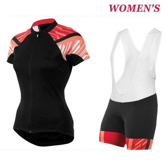 Women s Black-Orange Pro team Cycling jersey and shorts breathable Ropa  Ciclismo mujer MTB uniformes da3b2b811