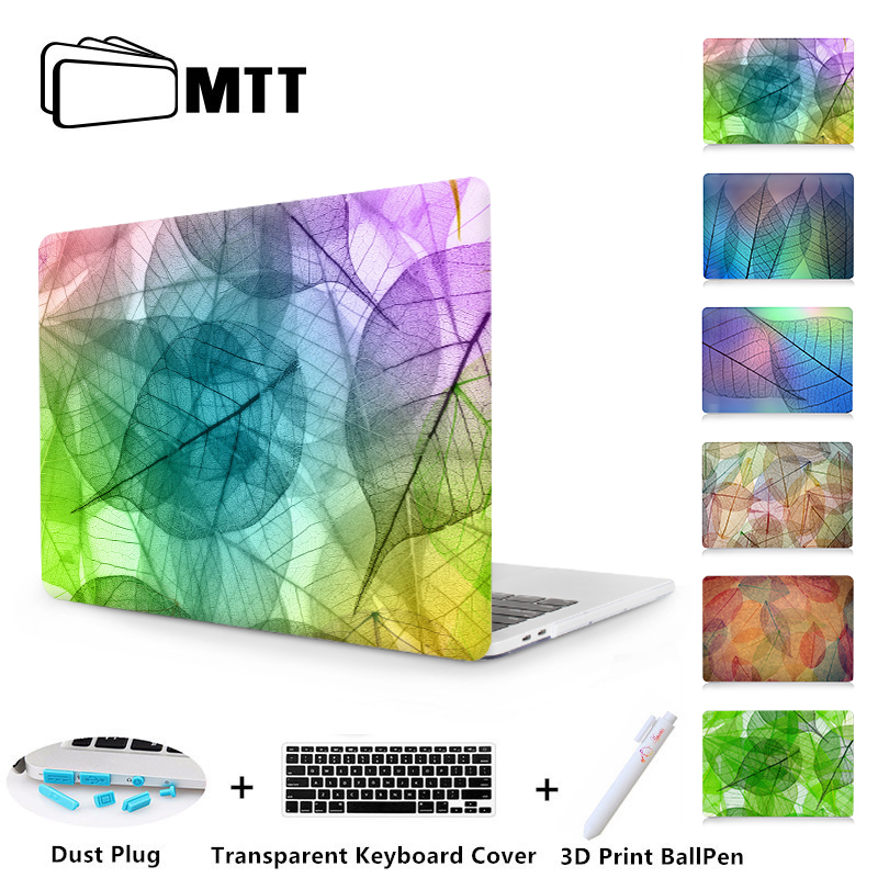 MTT Leaf Texture Print Case For Macbook Air Pro Retina 13 13 15 With Touch Bar Laptop Hard Case Cover for macbook Air 11 13 inchMTT Leaf Texture Print Case For Macbook Air Pro Retina 13 13 15 With Touch Bar Laptop Hard Case Cover for macbook Air 11 13 inch