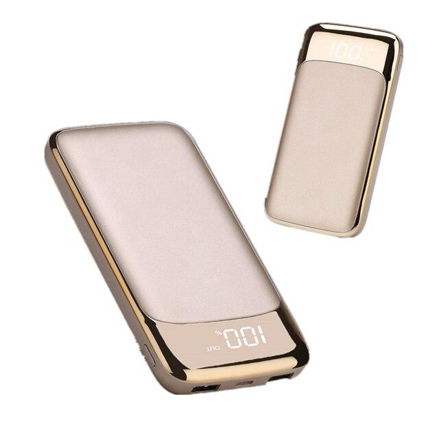 LED Powerbank 30000 mah batería externa PoverBank 2 USB cargador de teléfono móvil portátil para Xiaomi mi iphone Xs huawei
