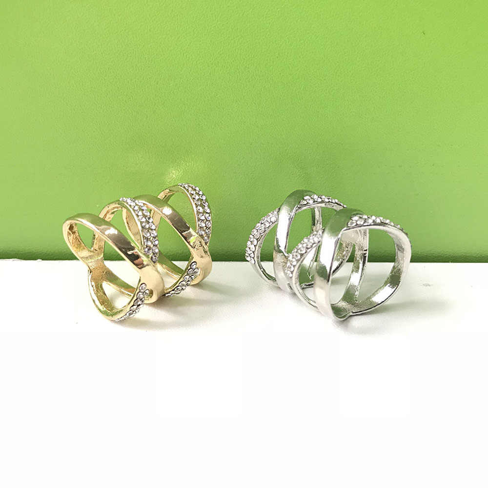 Fashion Indah Indah Wanita Berlian Imitasi Paduan Syal Pin Trendi Halus Hadiah Aksesoris Garmen Perhiasan Syal Pin