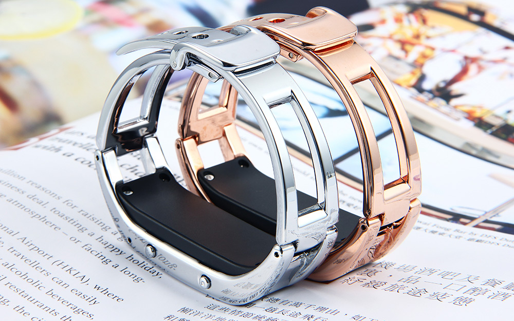 da01d15267f Bluetooth vibra pulseira inteligente pulseira de prata esportes d8 ...