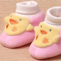 Winter Girls Baby Boys First Walker Shoes Newborns Warm House Slipper Clothes Animals Children Home Slippers