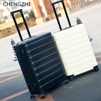 CHENGZHI 20222426Inch High Capacity Fashion PC Rolling Luggage Spinner Suitcase Traveling Luggage Bags With Wheels