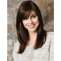 Chic Long Straight Dark Brown Color Capless Synthetic Hair Wigs For Beauty Women