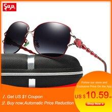 SAYLAYO Brand Design Luxury Polarized Sunglasses Women Ladies UV400 Protection Sun Glasses Female Vintage oversized Eyewear