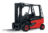 Linde new 3.5t 4t 4.5t 5t electric forklift truck 388 series E35 E40 E45 E50 electric counter balanced forklift 3.5ton 4ton 5ton