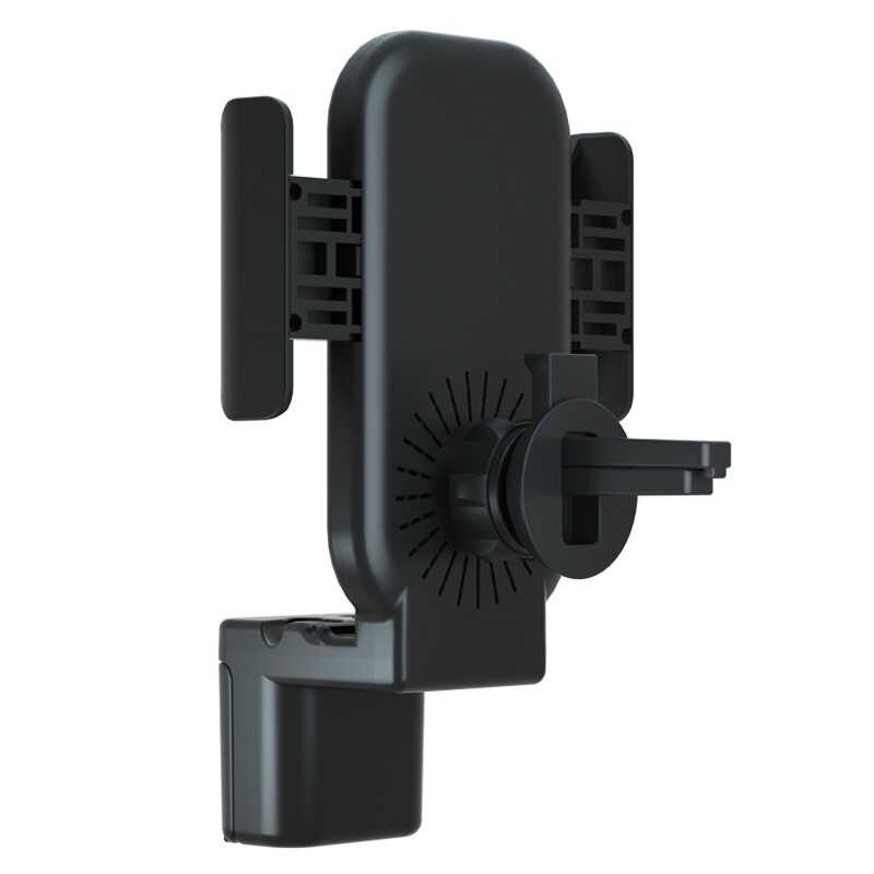 3 en 1 Qi chargeur sans fil charge rapide sans fil pour iPhone XS Samsung pour Apple Watch 4 3 2 1 Airpods support pour téléphone de voiture
