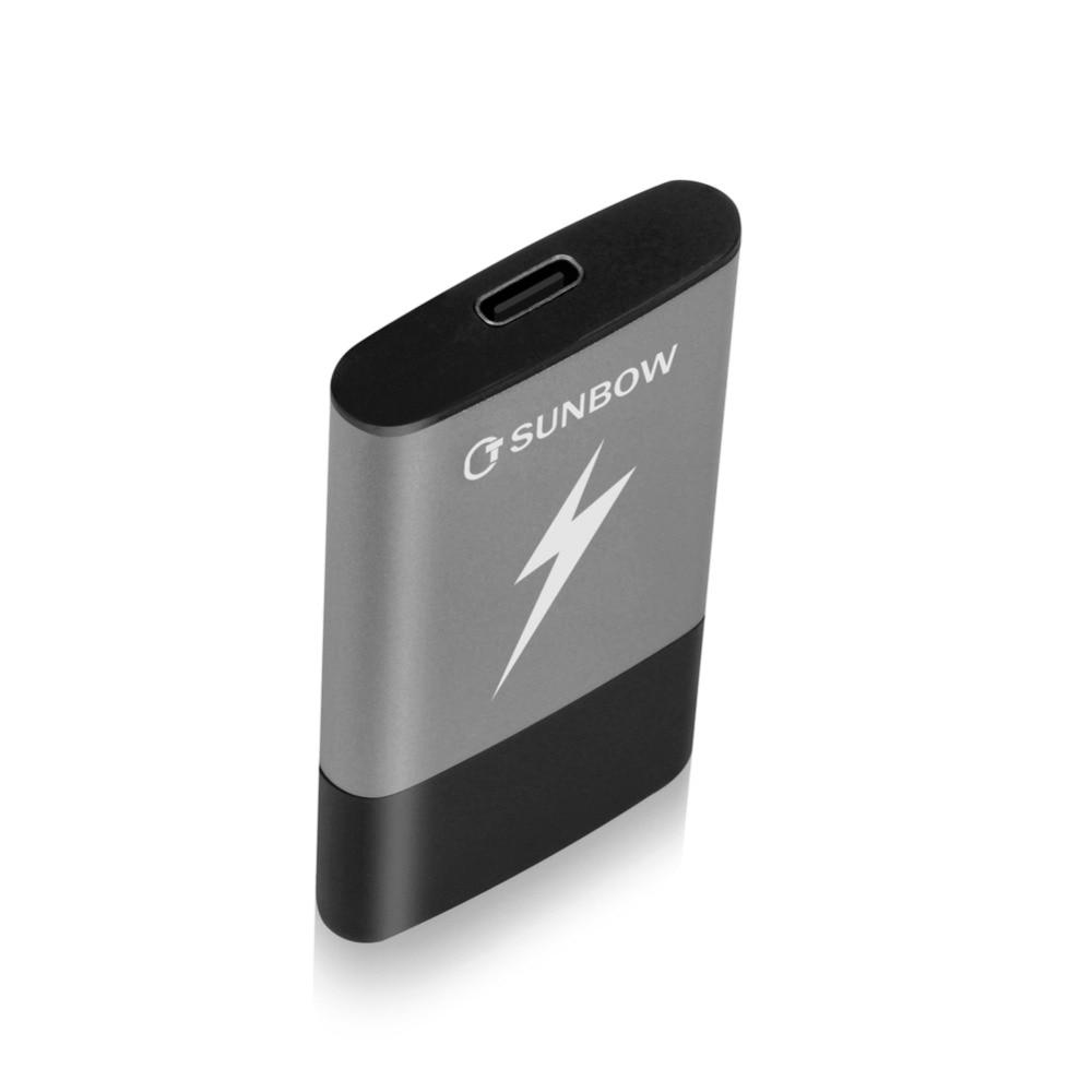 TC SUNBOW Newest item Portable SSD 250gb 500gb External USB 3 0 Solid State Drive