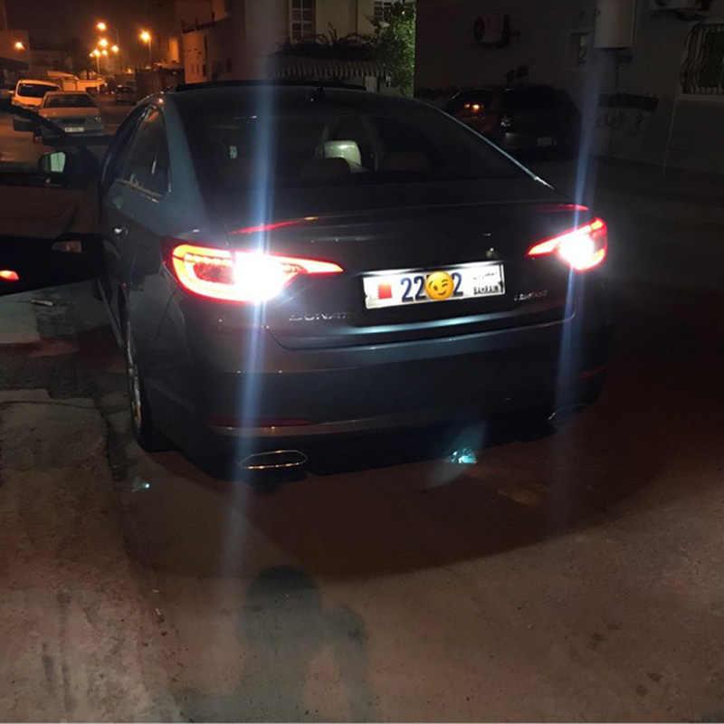 2X T15 W16W LED CANBUS Mobil Backup Reverse Sinyal Giliran Lampu untuk Hyundai Solaris Tucson IX35 Santa Fe Veloster IX20 IX55 Matrix