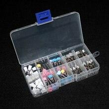 80 шт./пакет фильцы зуботехнические полировочные комплект с 4 Типы кисти Применение для низкая Скорость наконечник