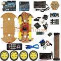 Multifunción Bluetooth Controlado Robot Smart Car Para Arduino uno