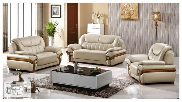 Iexcellent Modern Design Genuine Leather Sectional Sofa,Sofa Set