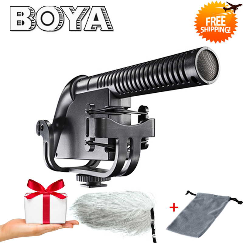 все цены на BOYA BY-VM190P Quality Super-Cardioid Compact Shotgun Microphone for Canon Nikon Sony DSLR Video Camera Camcorder Audio Recorder
