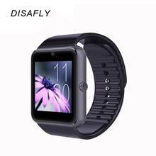 2016 Smart Watch GT08 Clock With Sim Card Slot Push Message Bluetooth Connectivity For Android IOS Phone Smartwatch GT08