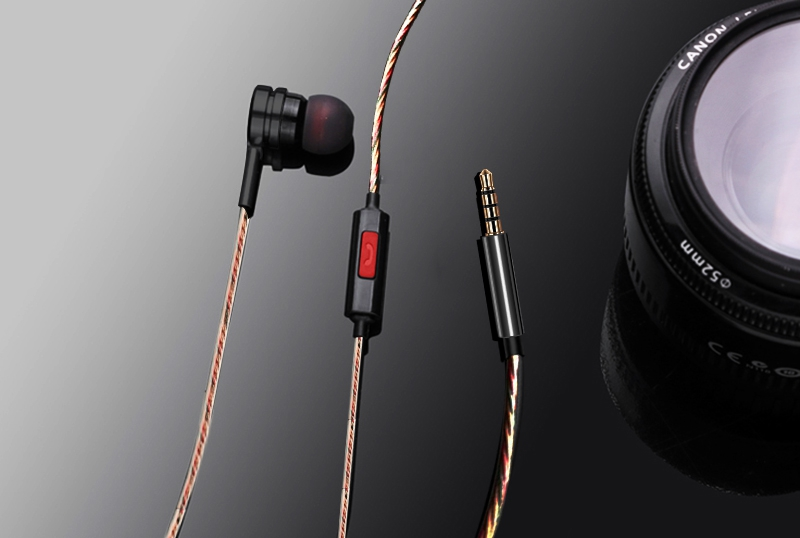 Artisome Super Bass Wired Earphone For Phone Stereo Mic Metal Earphone For iPhone Samsung Xiaomi Headphones Accessories (16)