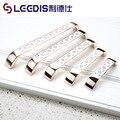 Alta qualidade moderna puxadores roupeiro maçanetas gaveta broca puxar, Mobiliário hardware, Grande passo 96 / 128 / 160 / 192 / 224 mm