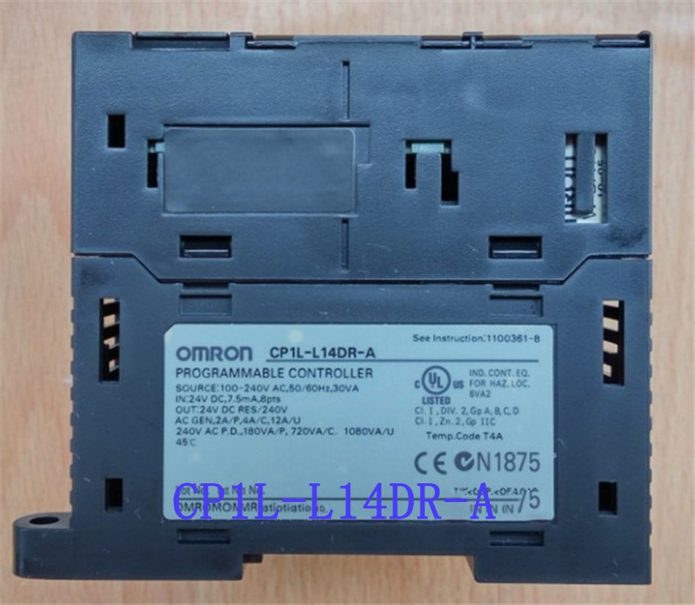цена на 8 DI 6 DO Relay CP1L-L14DR-A AC100-240V PLC Programmable Logic Controller New Original L14DR