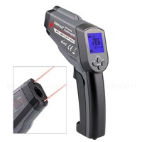 Double laser Infrared Thermometer 50 550/750/1100/1300/1600 Degree High Pyrometer IR Non Contact Thermometer Temperature Tester