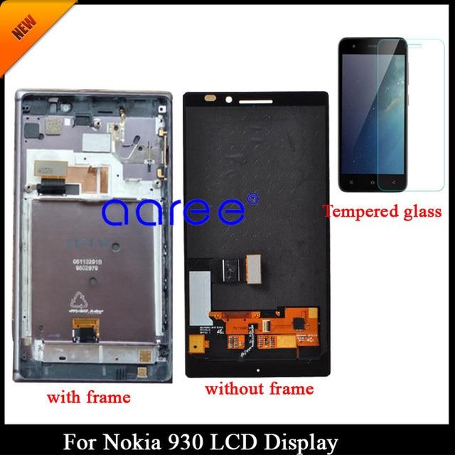 100% נבדק כיתה AAA LCD תצוגה עבור נוקיה 930 lcd מסך עבור Nokia 930 RM-1045 תצוגת LCD מסך מגע Digitizer הרכבה