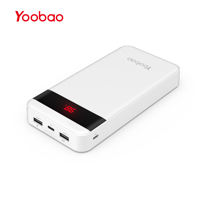 yoobao m20q 20000mah quick charge 3 0 power bank external. Black Bedroom Furniture Sets. Home Design Ideas