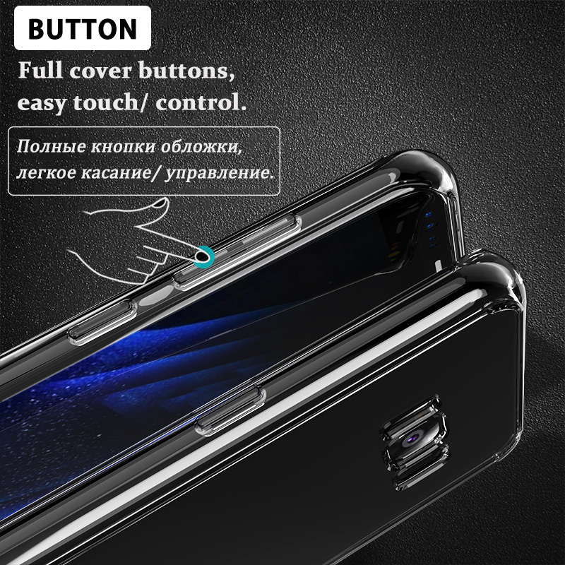 KCLC2906_7_Transparent Clear TPU Case For Samsung Galaxy S8 Plus
