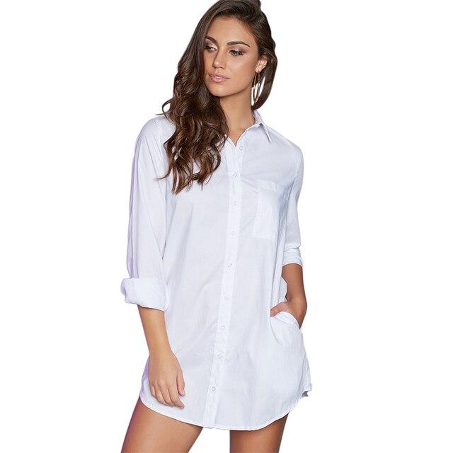 Witte t shirt jurk