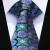 """Pocket Square Wedding Party Classic Corbata TZF01G8 Púrpura Floral Verde 3.4 """"de Seda lazo de Los Hombres Corbata y Gemelos Conjunto"""