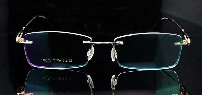 Titanium Rimless Glasses Women (7)