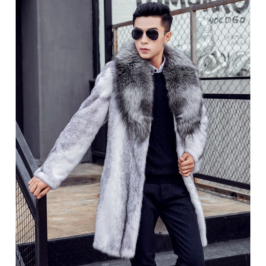 Fur Jacket Mens