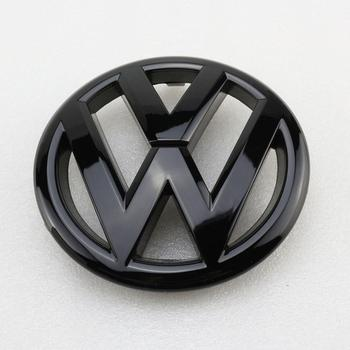 цена на 130mm Gloss Black Front Grille Grill Badge Replacement Car Logo Emblem for Volkswagen Jetta MK6 2011-2014