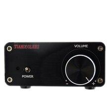 Cheap price TIANCOOLKEI YJ3116 Hifi Audio Digital Power Amplifier TPA3116 100W 2.0 mini Home Audio video Amplifiers black