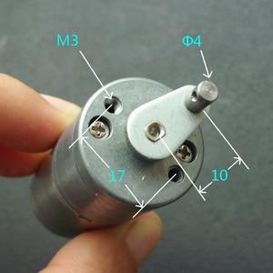 Ручной генератор, 25 мм, постоянный ток, 12 В, 200 об/мин, Мотор 370 с коробкой передач, 3 В, 50 об/мин, 6 в, 100 об/мин, бесщеточный двигатель с щеткой постоянного тока