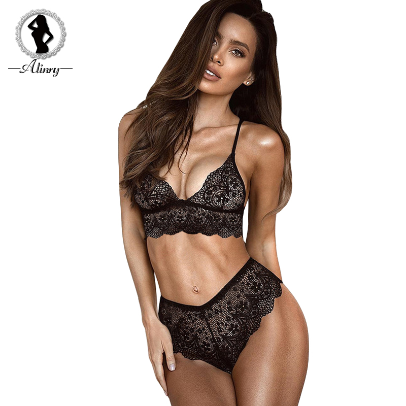 Bra & Brief Sets Back To Search Resultsunderwear & Sleepwears Gumprun Sexy Lingerie Push Up Bra Set Floral Embroidery Bandage Underwear Women Bralette Panty Set Thin Wireless Bra Brief Sets Always Buy Good