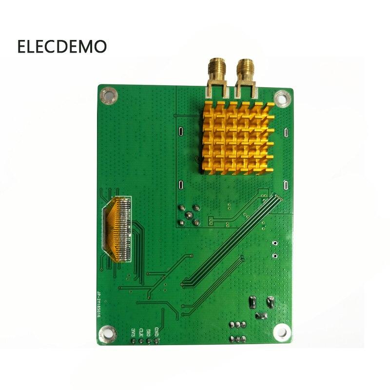 Image 3 - Модуль HMC830 с фазовой блокировкой петли PLL Модуль 25 M 3g с OLED бортовым микроконтроллером RF источник сигнала последовательный порт-in Аксессуары для демонстрационных стендов from Компьютер и офис