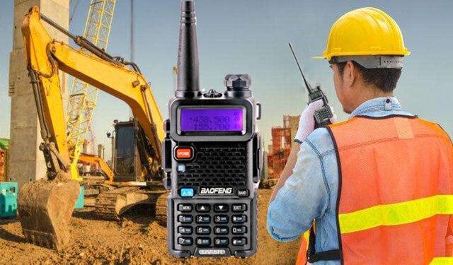 アップグレード Baofeng Uv 5R バッテリー 2800mah HT Woki 土岐ラジオ 10 キロ長距離 Communicator 無線警察スキャナ SB トランシーバ