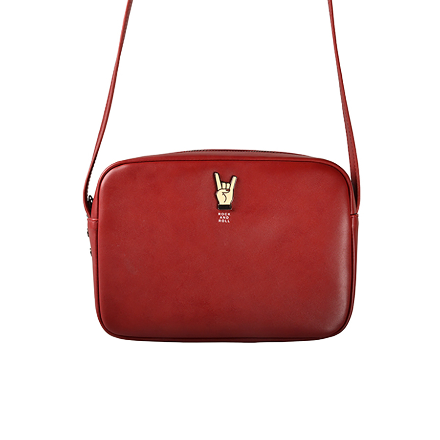 Kiitos Vita PU donne messenger borse con accessori in lega in serie di MUSICA (DIVERTIMENTO KIK)