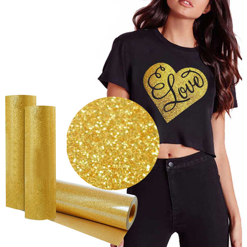 Iron On Paper T-Shirt Print Paper Painting Paper T-Shirt Heat Transfer Paper Glitter A4 Creative Durable Picture