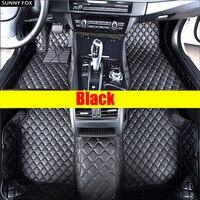 SUNNY FOX Car floor mats for Mercedes Benz G350 G500 G55 G63 AMG W164 W166 M ML GLE X164 X166 GL GLS 320 350 400 420 450 500 550