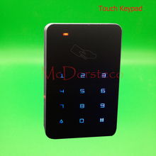 Backlight Touch keypad 125khz Rfid Access Control EM ID Keypad Single Door Stand-alone Access Controller & Wiegand 26 bit In