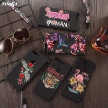 For Coque Huawei Y7 Prime 2018 Case Silicone Super 3D Relief Rose Cartoon Soft TPU Phone Case For Huawei Y7 Prime 2018 Back Case(China)
