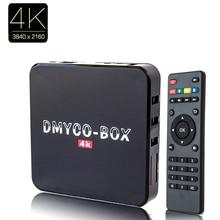 S905 Amlogic Cuadro de Tv Android Ram 2G/16G Android 5.1 Piruleta Inteligente Media Player 2.4G/5 GHz WiFi BT4.0 HDMI 2.0 UHD 4 K * 2 K 1000 M LAN