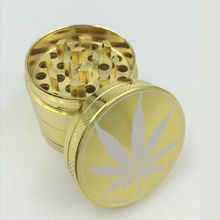 Gold Aluminum Weed Herbal Grinders