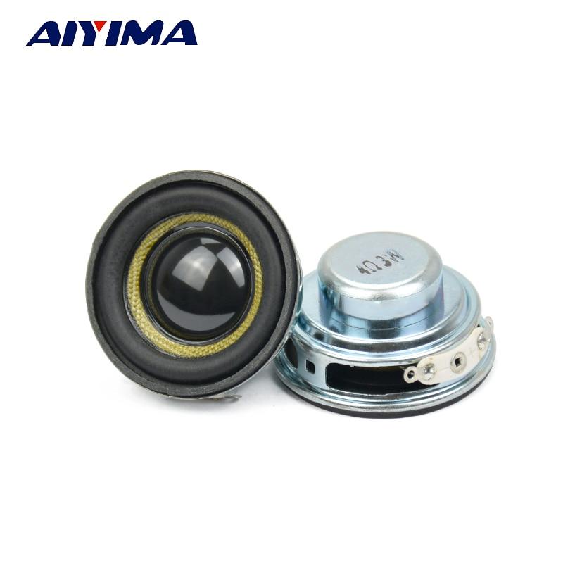 Aiyima 2pcs Audio Spkeakers Glass Fiber Waterproof Speakers Full Range Mini Portable Sound Speaker 1.5Inch 40MM