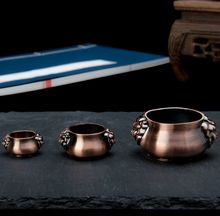 Wholesale Free shipping Pure Copper Stick Holders Small Ornaments Incense Burners Sandalwood Joss Stick
