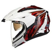 Dual Sports Full Open Face Motorcycle helmet Modular Moto 613 Capacetes Motociclismo Cascos Para Moto Casque Motocross Helmets