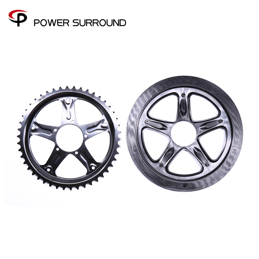 2018 Real New Arrival Bafang 46t Chain Wheel For 8fun Motor Kit Bbs01/02 Electric Bike