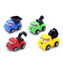 Mini car Puzzle Engineering Truck  Scraper Classic Cartoon Hot-selling Childrens Toys Best gift