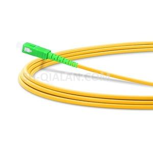Image 2 - Optyczne patchcordu światłowodowego LC do SC APC światłowodowe kabel Simplex 2.0mm pcv światłowód jednomodowy kabel krosowy APC jumper światłowodowy