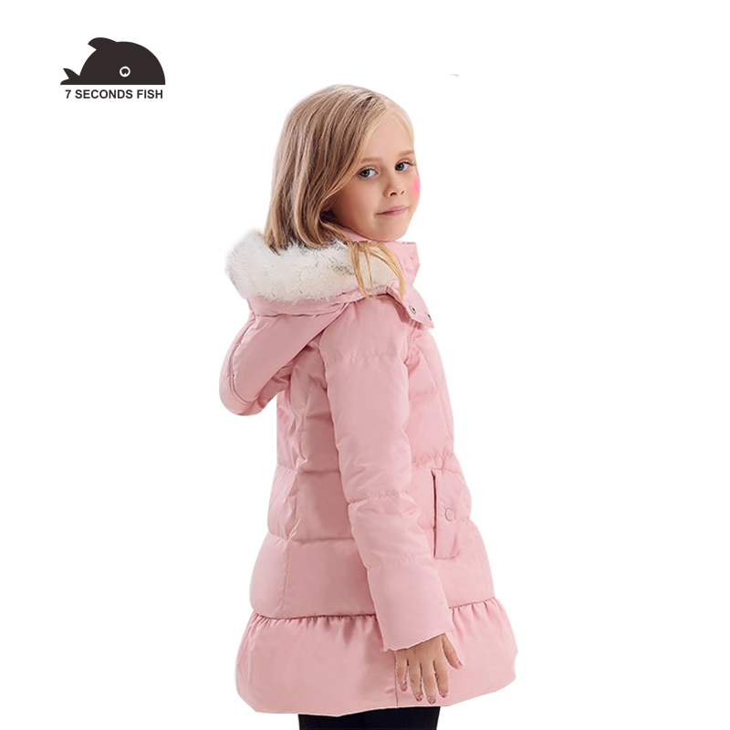 Girls Winter Coat  kids down Jacket  children winter jacket girls clothes winter Detachable fur hood girls down jacket 12 yearsGirls Winter Coat  kids down Jacket  children winter jacket girls clothes winter Detachable fur hood girls down jacket 12 years